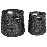 Set Of 2 Kalahari Weave Storage Baskets