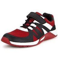 Clarks Trace Step Junior Shoe, Red, Size 4 Older