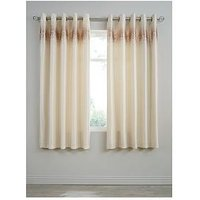 Marissa Ombre Sequin Lined Eyelet Curtains