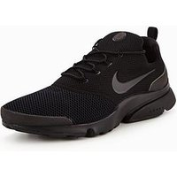 Nike Presto Fly, Black/Black, Size 6, Men