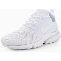 Nike Presto Fly, White/White, Size 9, Men