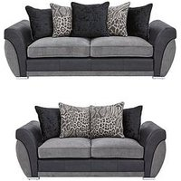 Product photograph showing Hilton 3-seater 2-seater Sofa Set Buy And Save