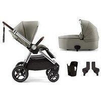 Mamas & Papas Ocarro Pushchair 4 Piece Bundle, Blue Mist