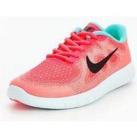 Nike Free RN 2 Junior, Pink, Size 5.5
