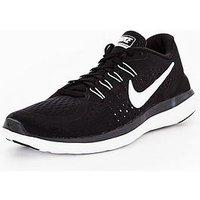 Nike Free RN Sense - Black/White/Grey , Black/White/Grey, Size 3, Women