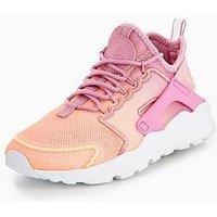 Nike Air Huarache Run Ultra Breathe - Pink , Pink, Size 6, Women