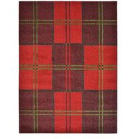 Ideal Home Orkney Check Rug