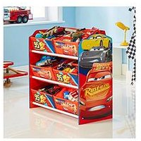 Product photograph showing Disney Cars Lightning Mcqueen Kids Storage Unit