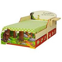 Gruffalo Gruffalo Toddler Bed with Underbed Storage By HelloHome, One Colour
