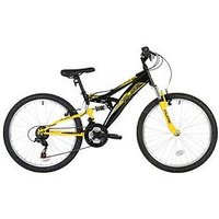 Flite Taser Dual Suspension Boys Bike 24 Inch Wheel