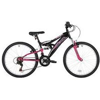 Flite Taser Dual Suspension Girls Bike 24 Inch Wheel