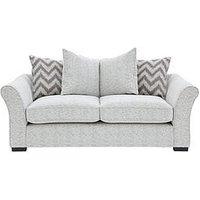 Cavendish Chevron 2-Seater Fabric Sofa