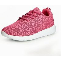V by Very Jojo Older Girls Trainers, Pink, Size 5 Older