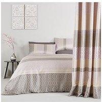 Renee Jacquard Woven Stripe Duvet Cover Set
