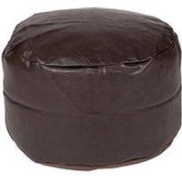 Product photograph showing Kaikoo Faux Leather Footstool