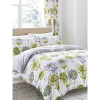 Product photograph showing Catherine Lansfield Banbury Easy Care Duvet Cover Set