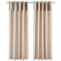 Lexie Lined Eyelet Curtains