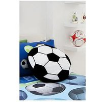 Product photograph showing Catherine Lansfield Football Cushion