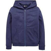 V by Very Schoolwear Unisex P.E. School Basic Hoodie - Navy, Navy, Size Age: 13-14 Years, Women