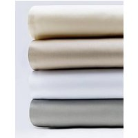 Hotel Collection Luxury 400 Thread Count Soft Touch Sateen Flat Sheet