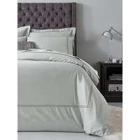 Hotel Collection Luxury 400 Thread Count Stitch Boarder Soft Touch Sateen Duvet Cover