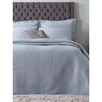 Hotel Collection Luxury Contemporary Geometric Quilted Cotton Throw 165X240Cm