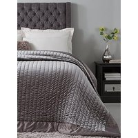 Product photograph showing Hotel Collection Luxury Velvet Bedspread Throw And Pillow Shams