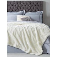 Hotel Collection Luxury Faux Fur Throw