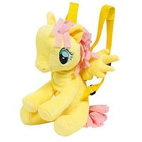 My Little Pony My Little Pony Fluttershy Character Plush Backpack