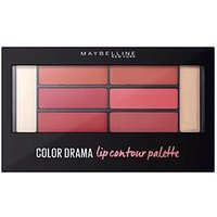 MAYBELLINE Maybelline Color Drama Lip Contour Palette Blushed Bombshell 4g, One Colour, Women