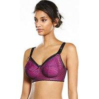 Freya  Non-padded bra, Fuchsia, Size 34Dd, Women