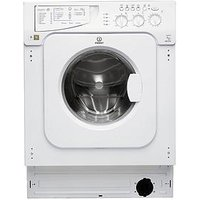 Indesit Iwme127 7Kg Load, 1200 Spin Integrated Washing Machine  - Washing Machine With Installation