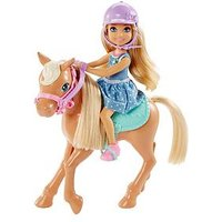Barbie Club Chelsea Doll &Amp; Pony