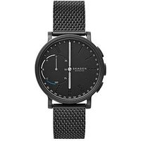 Skagen Skagen Connected Hagen Hybrid Black Dial Black Mesh Smart Watch, One Colour, Men