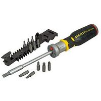 Stanley Fatmax Premium Led Ratchet Screwdriver &Amp; Bits