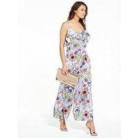Vero Moda Sara Frill Jumpsuit - Lavender, Lavender, Size 8=Xs, Women