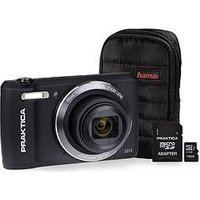 Praktica Luxmedia Z212 Black Camera Kit Including 16Gb Microsd Class 6 Card And Case sale image