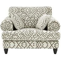 Luxe Collection - Debonair Fabric Cuddle Chair