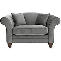 Luxe Collection - Savannah Fabric Cuddle Chair