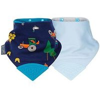 CHEEKY CHOMPERS CHEEKY CHOMPERS Neckerchew 2 pk - Simple Classic & Joules Reynards Farm, One Colour