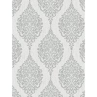 Product photograph showing Superfresco Luna Grey Wallpaper