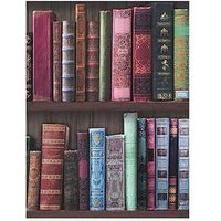 Graham & Brown Book Shelf Wallpaper