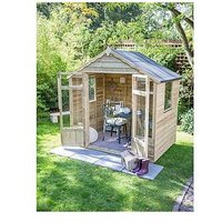 Forest 7 X 5Ft Oakley Overlap Pressure Treated Summerhouse