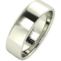 Love GOLD 9ct Gold Premier Collection 6mm Heavy Weight Wedding Band, Yellow Gold, Size R, Women