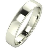 Love GOLD 9ct Gold Premier Collection 4mm Heavy Weight Wedding Band, Yellow Gold, Size Q, Women