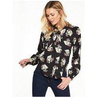 Guess Irisha Shirt, Romantic Bouquet, Size S, Women