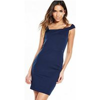 Guess Diletta Dress - Ink Blue, Ink Blue, Size Xs, Women