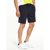 Lacoste Sport Fleece Short, Navy, Size 3, Men
