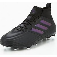 adidas Mens Ace 17.2 Primemesh Firm Ground Football Boot, Black, Size 9, Men