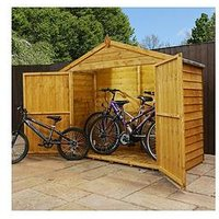 Product photograph showing Mercia 7 X 3ft Overlap Bike Store